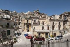 Blick von Ragusa Sizilien Italien Europa Lizenzfreie Stockfotografie