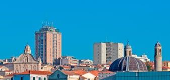 Blick von Sassari Lizenzfreies Stockbild