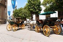 Blick von Sevilla, Spanien Stockfotos