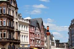 Blick von Trier, Deutschland Stockbilder