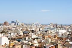 Blick von Valencia Stockfoto
