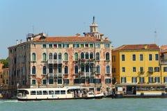 Blick von Venedig im Sommer Lizenzfreie Stockfotografie
