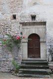 Blick von Visso, schönes Dorf in der Provinz von Macerata Lizenzfreies Stockbild