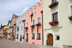 Blicke der schönen Stadt von Süd-Tirol Lizenzfreies Stockbild