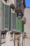 Blicke des wunderbaren Bergdorfes - Pescocostanzo Lizenzfreie Stockfotos