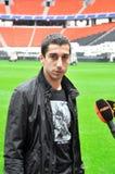 Blicke LHenrikh Mkhitaryan Lizenzfreies Stockfoto