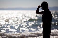 Blicken in Richtung des Ozeans Lizenzfreie Stockfotos