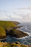 Blicken in Richtung des Umhangs Cornwall Lizenzfreie Stockfotos