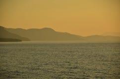 Blicken in Richtung Samos Stockbilder