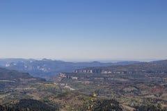 Blicken in Richtung Zion National Parks Lizenzfreie Stockfotos