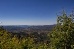 Blicken in Richtung Zion National Parks Lizenzfreies Stockfoto