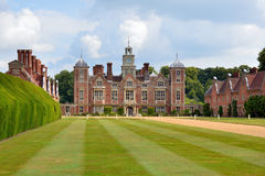 Blickling Hall - the Entrance Stock Image