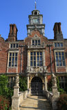Blickling Hall - Grand entrance. Blickling Hall is a stately home which is part of the Blickling estate. It is located in the village of Blickling north of royalty free stock photography