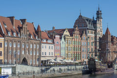 Blickstadt Gdansk Polen Europa Stockfotografie