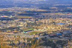Blida city. An overview of Blida city in Algeria royalty free stock image