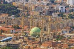 Blida city. View of Blida city form Chea, Algeria Royalty Free Stock Photography