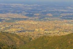 Blida city. View of Blida city form Chea, Algeria Stock Image