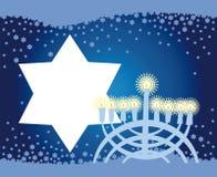 Blije achtergrond van de Joodse vakantie Stock Foto