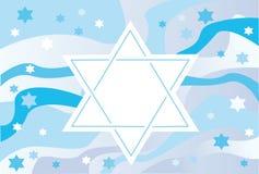 Blije achtergrond van de Joodse vakantie Stock Afbeelding