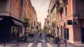 Blije straten stock foto