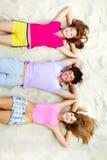 Blije vrienden Stock Foto