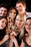 Blije vrienden Royalty-vrije Stock Foto's