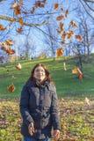 Blije Vrouw Stock Afbeeldingen