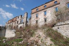 Blijft van Hapsburg-Kasteel, Slovenië royalty-vrije stock afbeeldingen