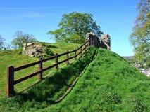 Blijft van kasteel Kendal met Stock Afbeeldingen