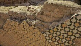 Blijft van Roman stad van Chellah-necropool rabat marokko stock afbeeldingen