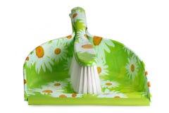 Blik en borstel Royalty-vrije Stock Afbeeldingen