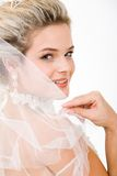 Blik van bruid royalty-vrije stock foto's