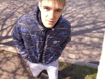 Blik van de jeugd Stock Foto's