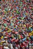 Blikken voor recycling Royalty-vrije Stock Afbeelding