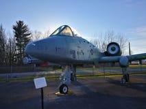 A-10 blikseminslag Royalty-vrije Stock Foto's