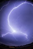 blikseminslag Stock Afbeelding