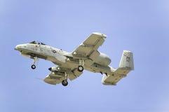 A-10A blikseminslag II Stock Afbeeldingen