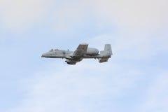 A-10 blikseminslag II op vertoning Stock Fotografie