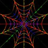 Bliksemspinneweb Royalty-vrije Stock Afbeelding
