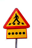 Blimd persons crossing Royalty Free Stock Images