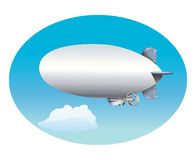 Blimp Royalty Free Stock Photography