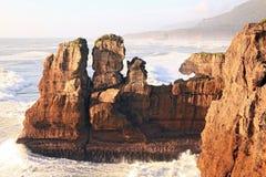 blin nowa skała Zealand Fotografia Stock