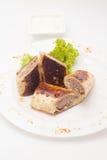 Blin z mięsem Fotografia Stock