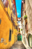 Blind alley in Florence, Italy Royalty Free Stock Images