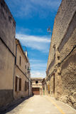 Blind alley. In a village in Majorca, Spain Royalty Free Stock Image