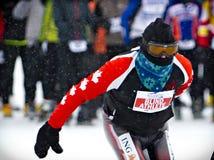 Blind Athlete Royalty Free Stock Photos