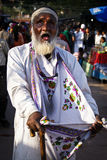 Blind beggar in India Royalty Free Stock Images