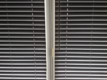 Blind blinds. A photo of plain white Stock Photography