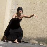 blind dansare arkivbild