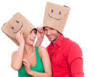 Blind date stock photography